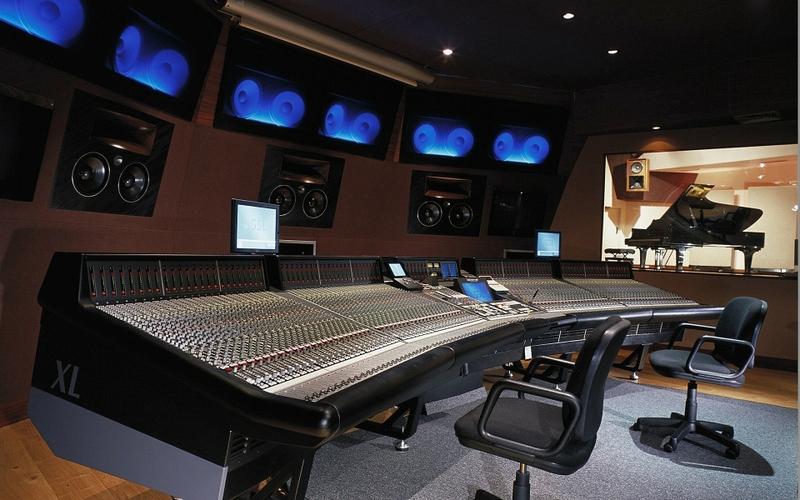 music studio audio 1920x1200 wallpaper Entertainment Music HD 800x500