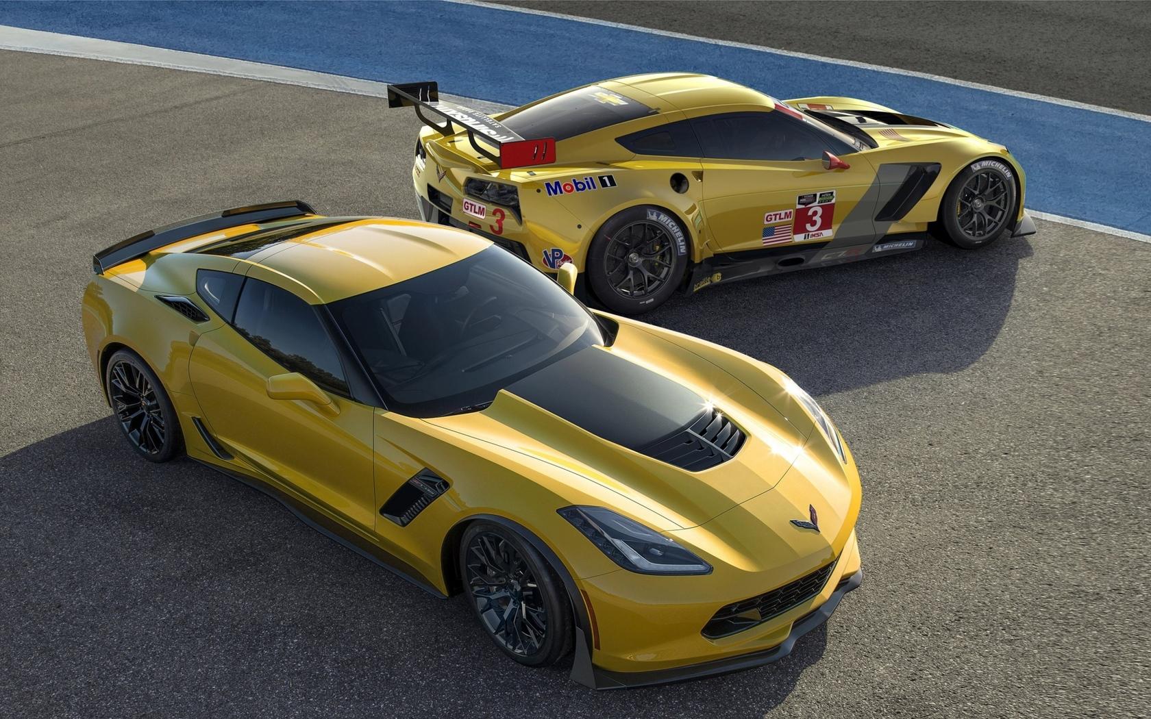Chevrolet Corvette racing cars Widescreen Wallpaper   20295 1680x1050