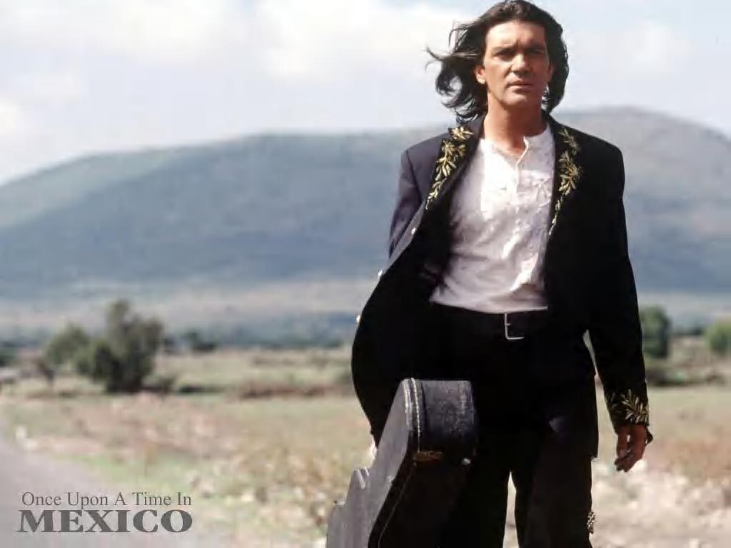 Antonio Banderas Desperado Guit HD Wallpaper Background Images 1024x768