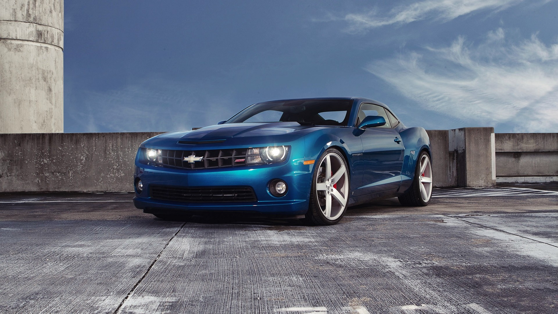 Gallery For gt Blue Camaro Wallpaper Hd 1920x1080