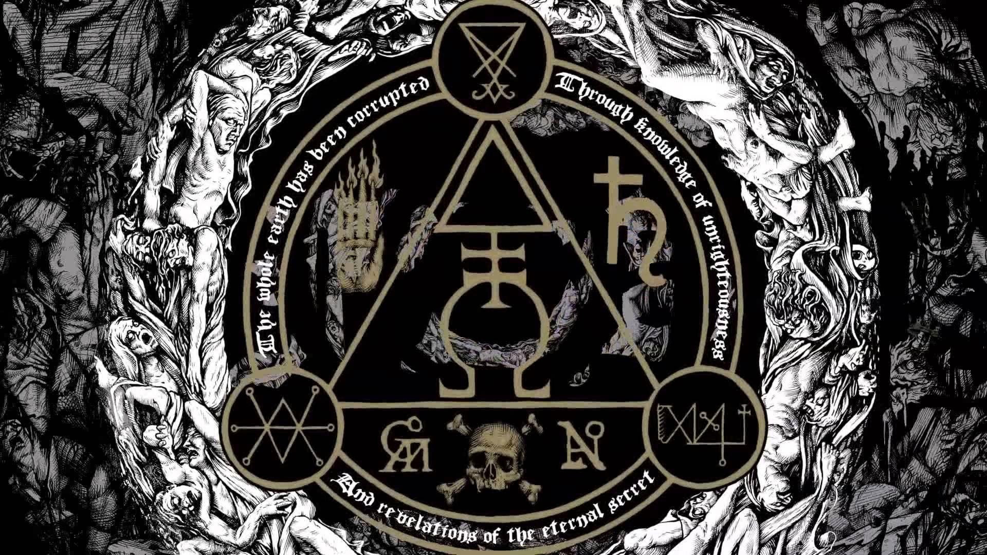 GOATWHORE black death metal heavy thrash dark evil occult 1920x1080