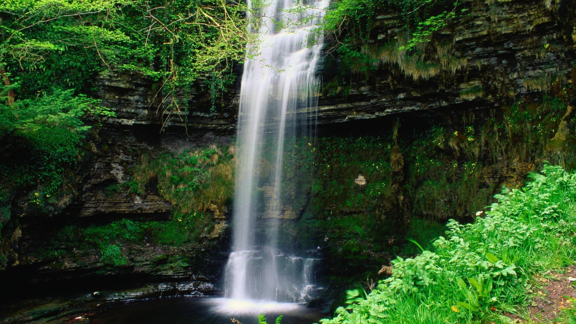 Glencar waterfall Ireland wallpaper   418684 1920x1080
