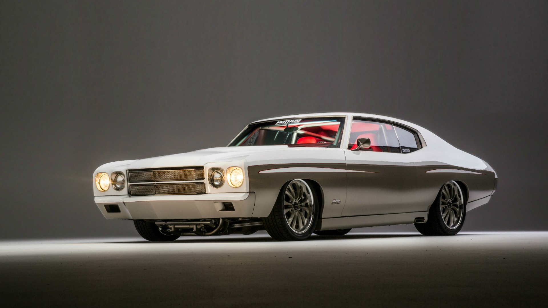 Chevrolet Chevelle SS beautiful car muscle car tuning wallpaper 1920x1080