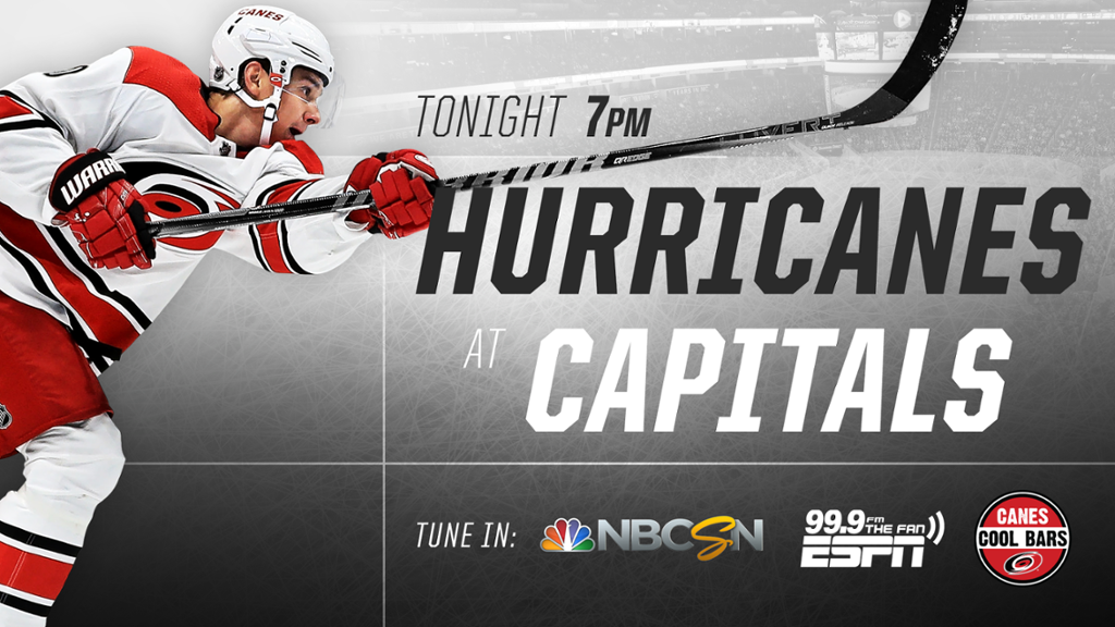Preview Hurricanes at Capitals 1024x576