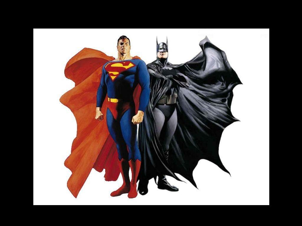 Superman and Batman Wallpaper   Superman Images Gallery 1024x768
