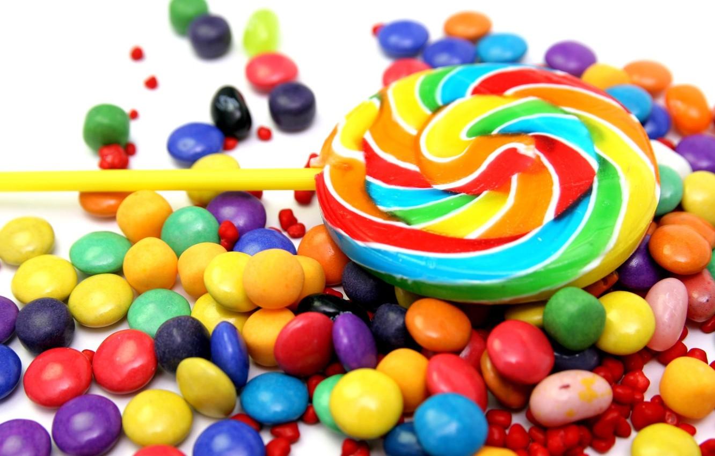 Wallpaper food candy sweets lollipops Lollipop colorful 1332x850