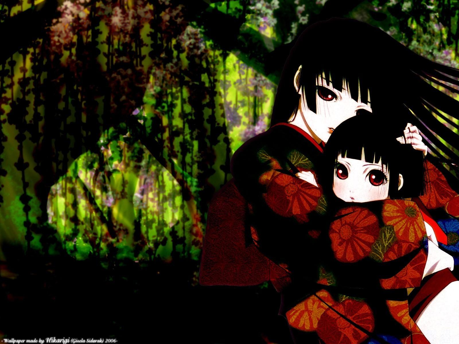 Hell Girl   Jigoku Shoujo Girl From Hell Wallpaper 3252427 1600x1200