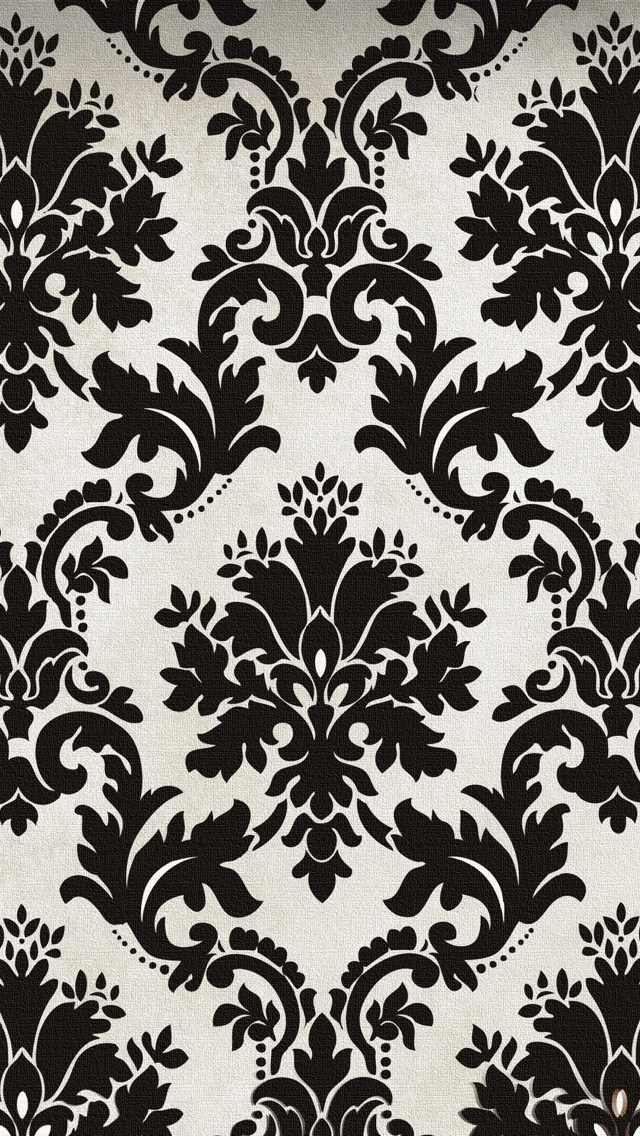 Vintage Black And White Texture   The iPhone Wallpapers 640x1136