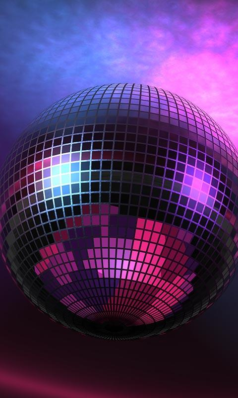 Disco Ball Live Wallpaper   screenshot 480x800