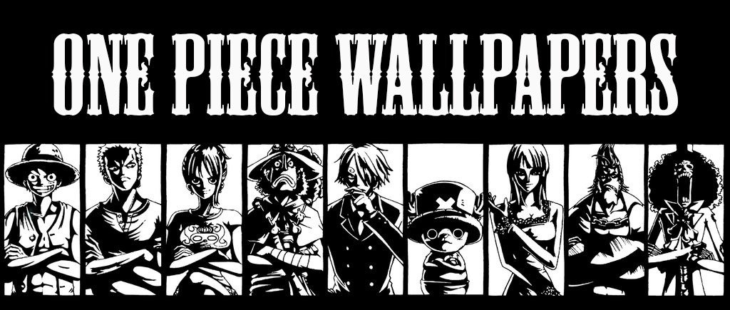 One Piece Black And White Wallpaper Anime