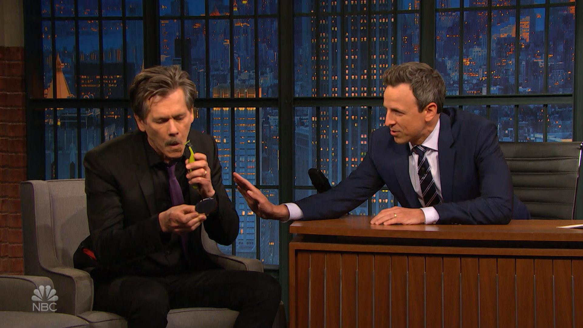 Seth Meyers reveals he and Kevin Bacon are related See their 1920x1080