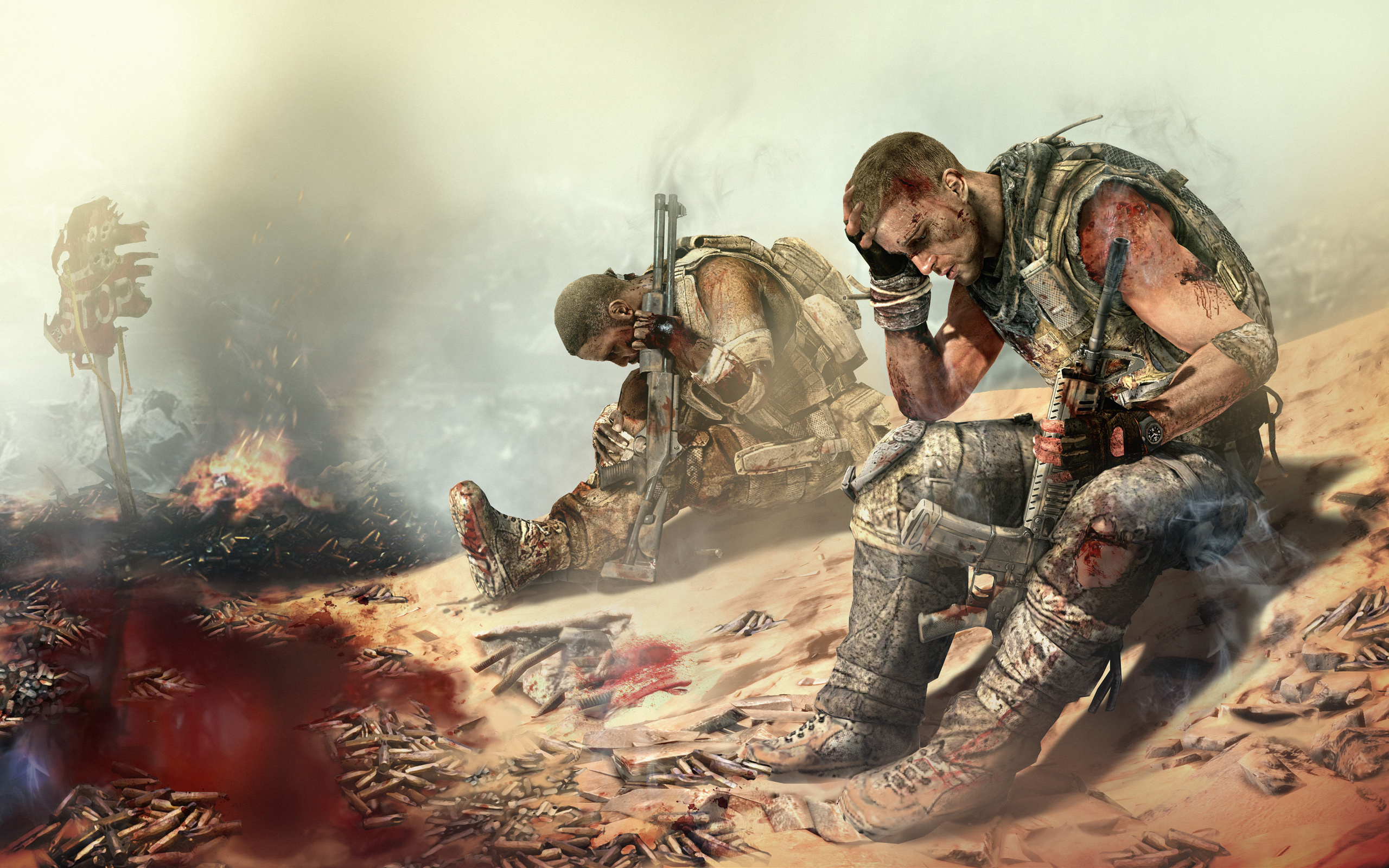 Spec Ops The Line HD Wallpaper Background Image 2560x1600 2560x1600