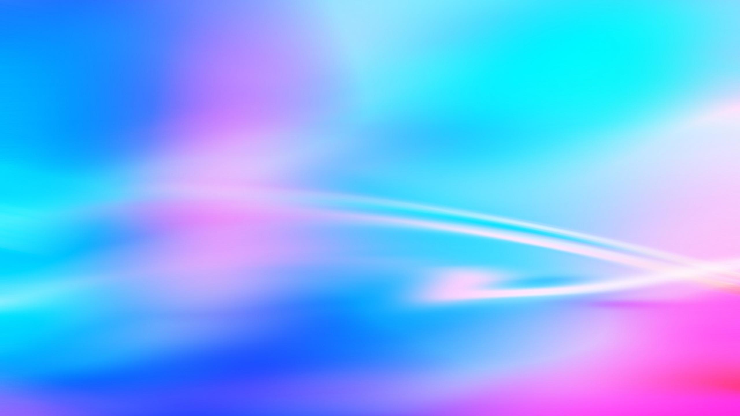 2560x1440 Wallpaper lines light blue pink 2560x1440