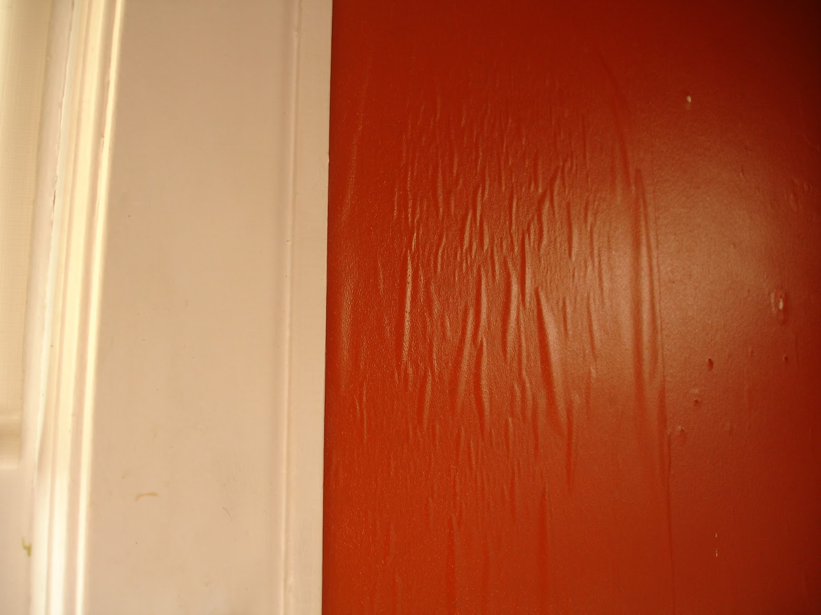 Painting over wallpaper glue my blog Priming walls before painting