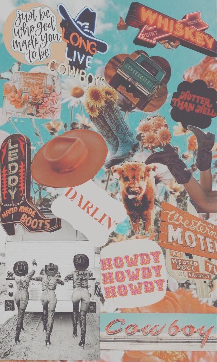 Western Wallpaper Cow print wallpaper Iphone wallpaper vintage 718x1200