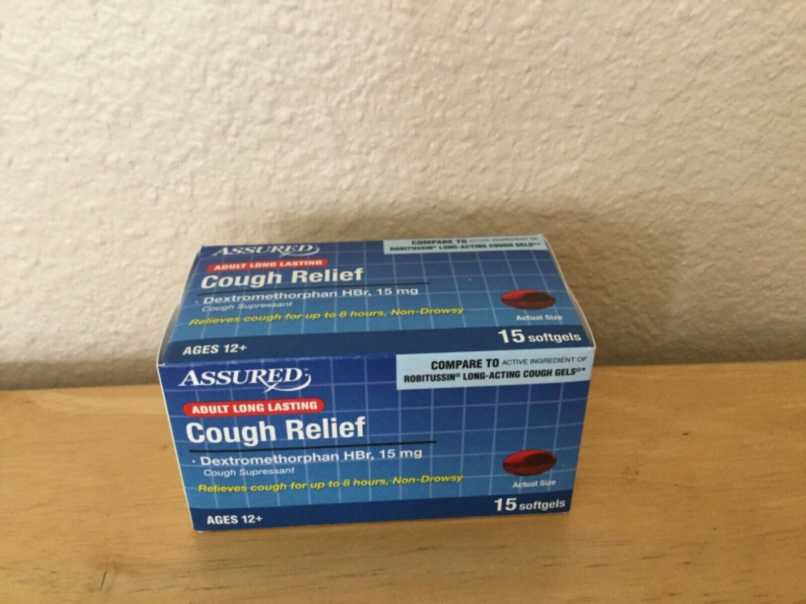 Dextromethorphan HBR Suppression Cough Relief Pills total 1000 1600x1200