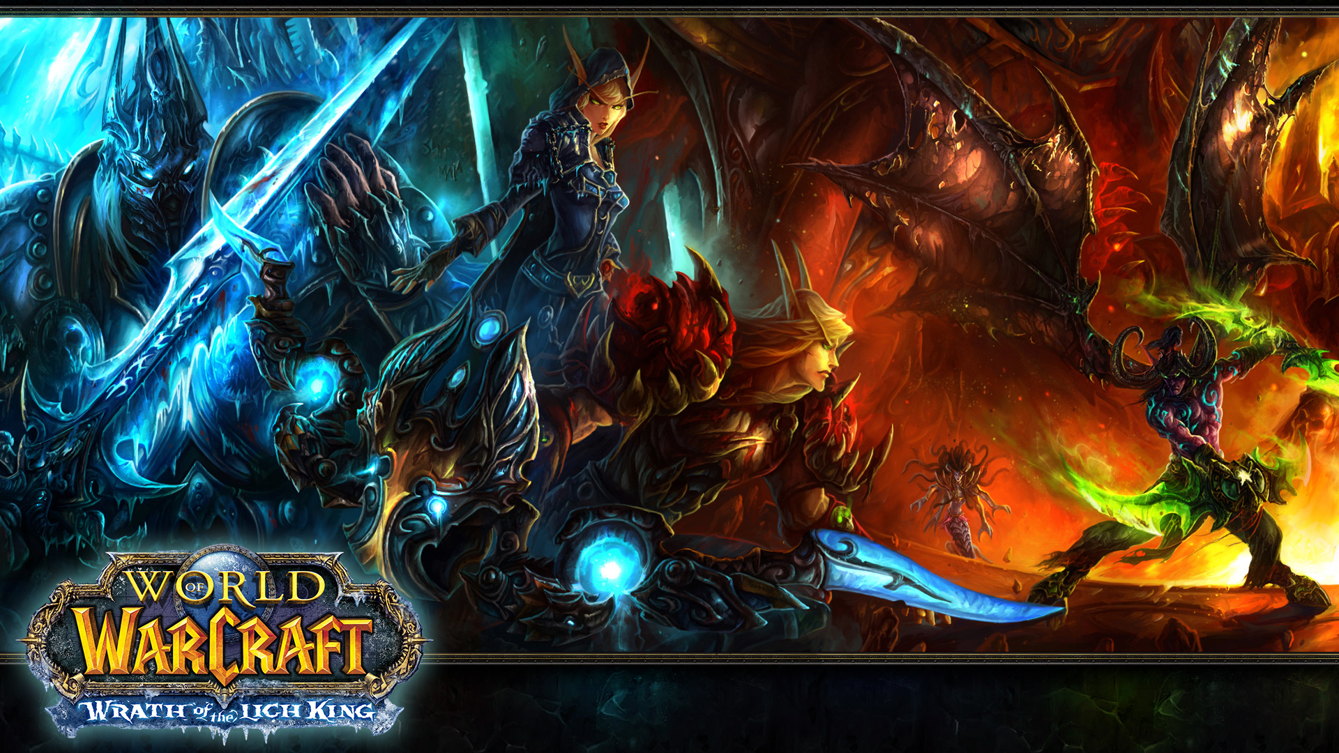 World of Warcraft Wrath of the Lich King wallpaper   135766 1920x1080