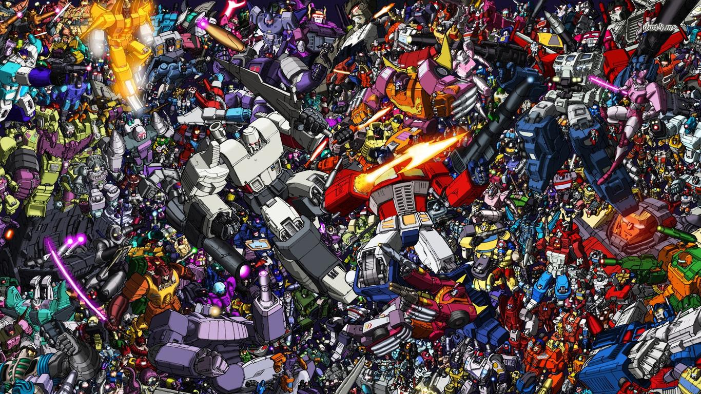 Transformers wallpaper   Cartoon wallpapers   4815 1366x768