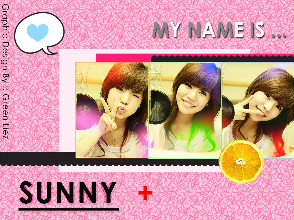 My Name is Sunny Wallpaper SNSD Artistic Gallery 1024x768