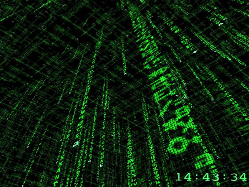 Matrix Screensaver 3D   Download 3D Matrix Screensaver   Download 800x600