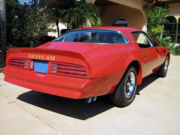 1977 Pontiac TRANS AM 66 Rear 1977 Pontiac TRANS AM 66 620x465