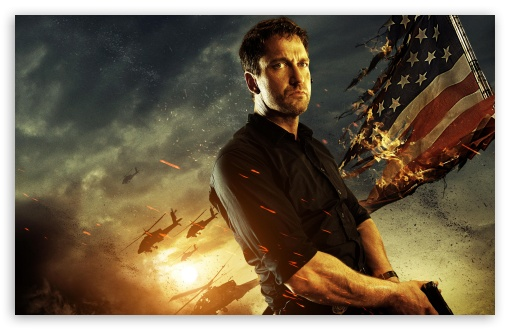 Download Gerard Butler In Olympus Has Fallen wallpaper 510x330