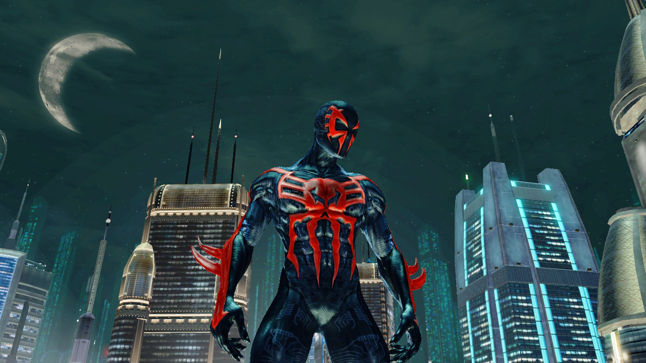 Spider Man 2099 Hd Wallpaper Wallpapersafari