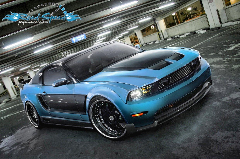 2009 Ford Mustang GT Wallpaper 1240x822