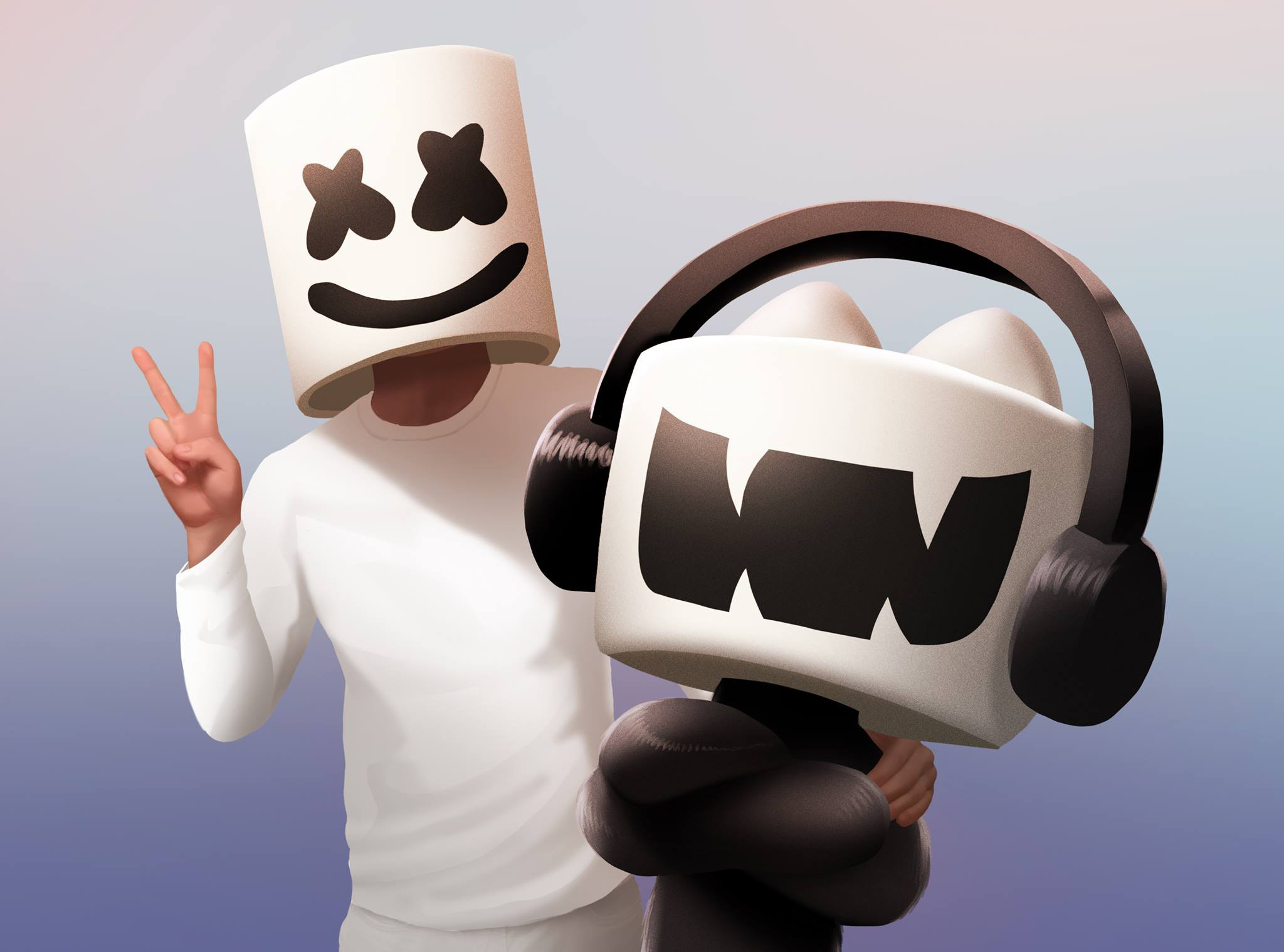 Dj Marshmello Wallpapers X