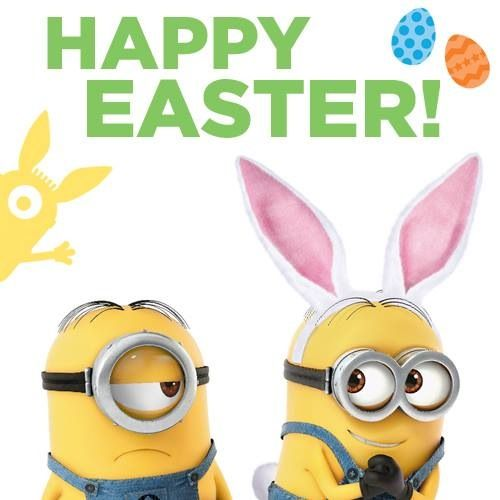 Minion Easter holidays easter Pinterest Happy Easter Easter 500x500