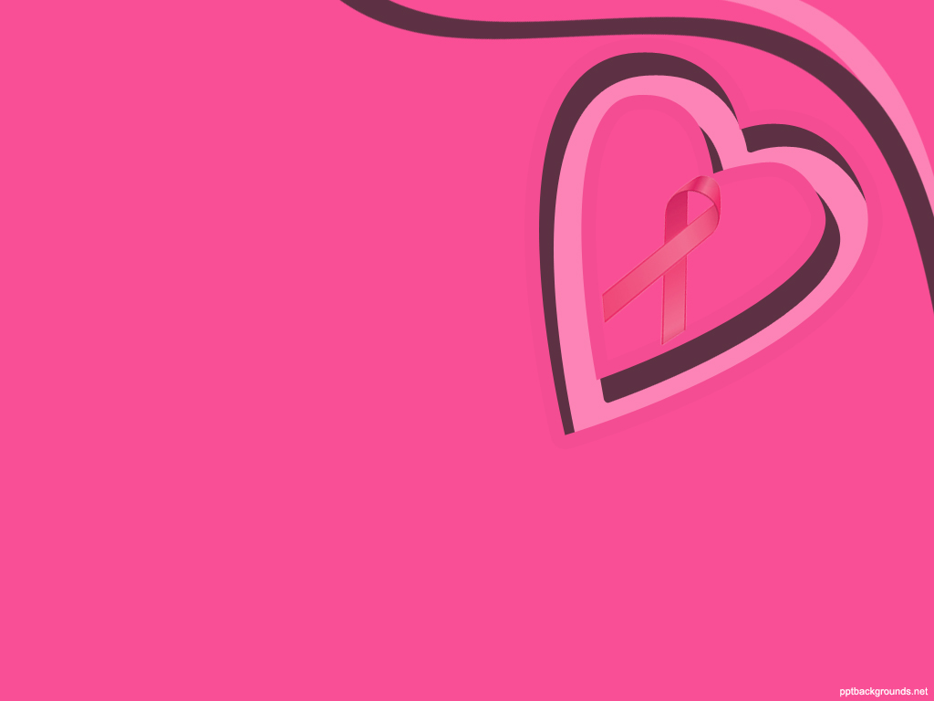 Breast cancer awareness backgrounds wallpapersafari for Breast cancer ppt template