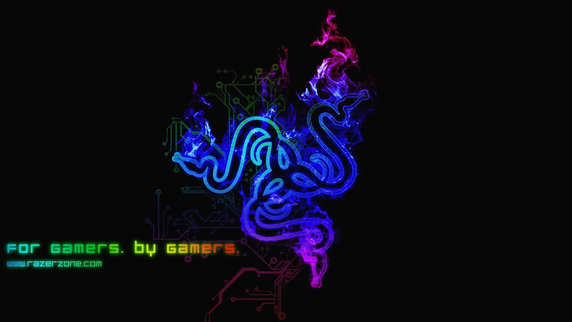 Razer Wallpaper 1920x1080 Blue Images &amp Pictures  Becuo
