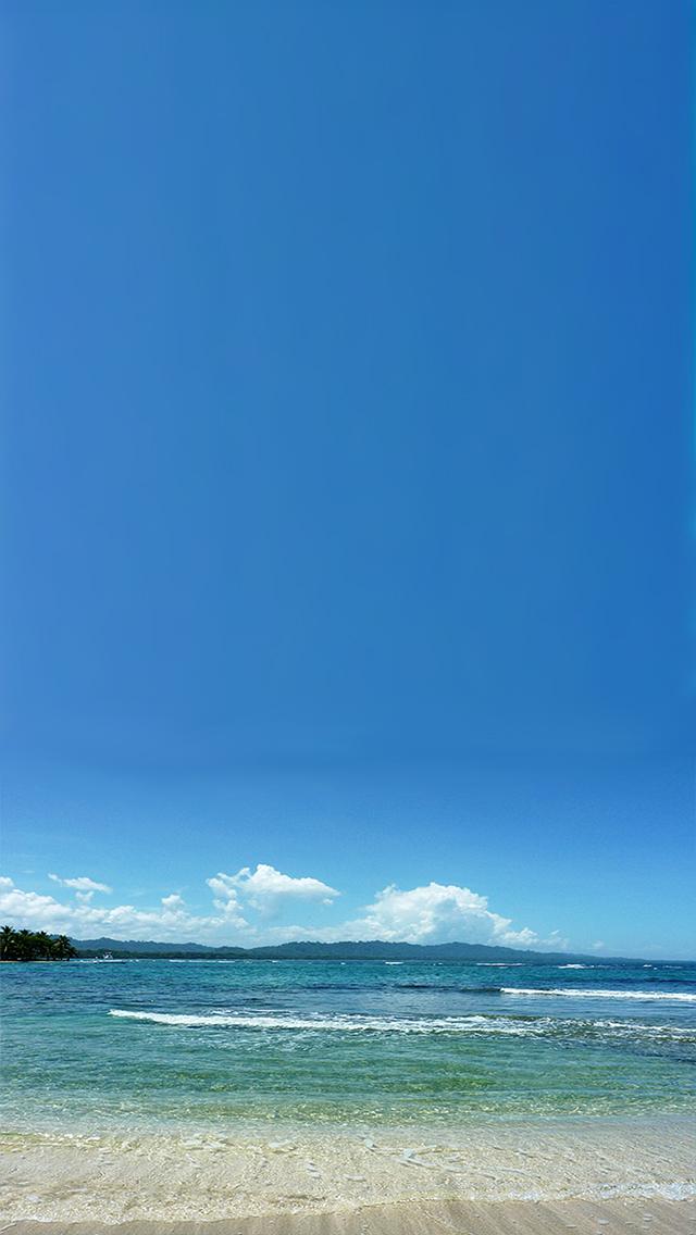 Sea Beach iPhone wallpaper