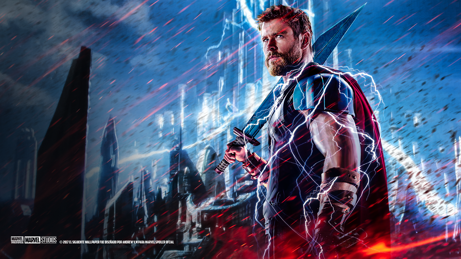 [32+] Thor: Ragnarok HD Wallpapers on WallpaperSafari