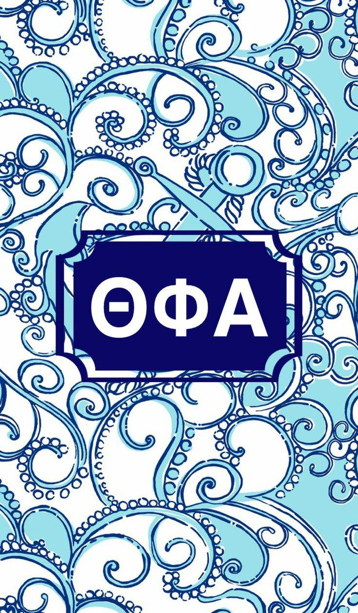 Theta Phi Alpha monogram background 736x1258