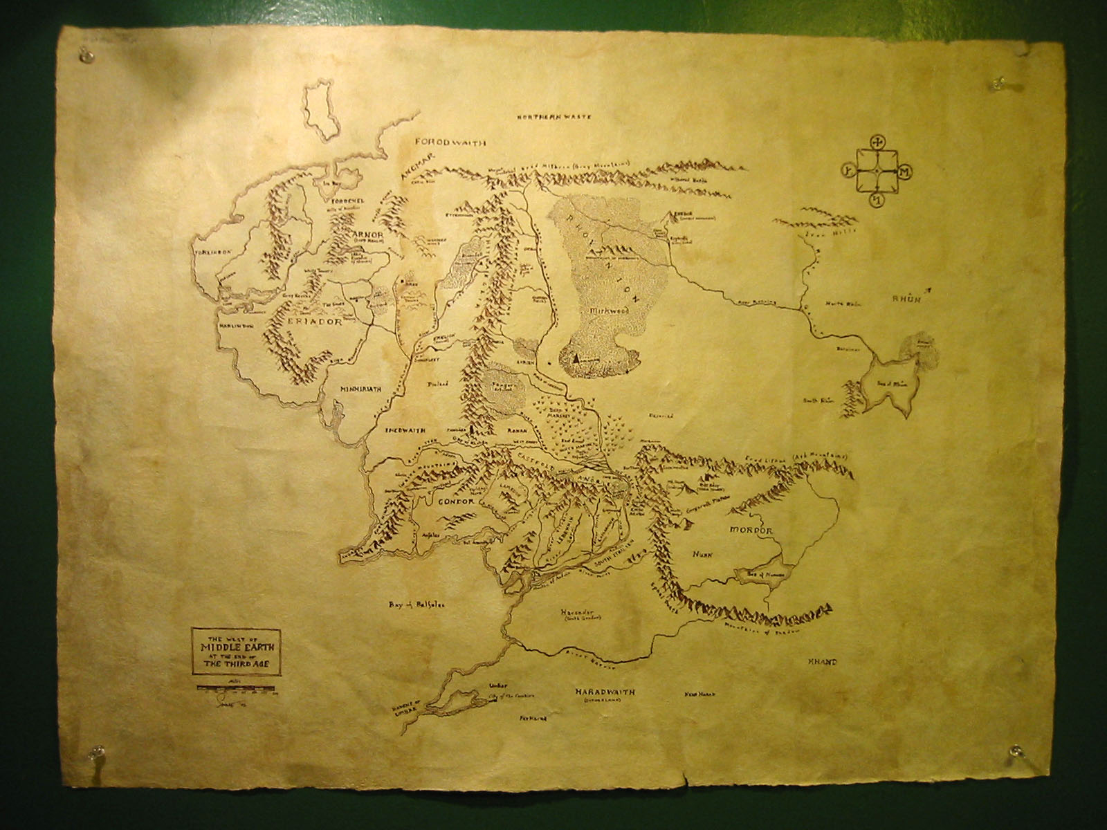 Map Of Middle Earth Wallpaper WallpaperSafari – Full Size Map of Middle Earth