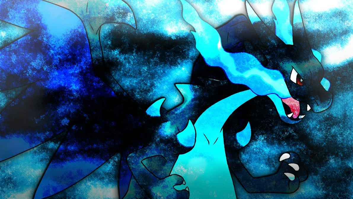Free Download Mega Charizard X Wallpaper 4 By Glench