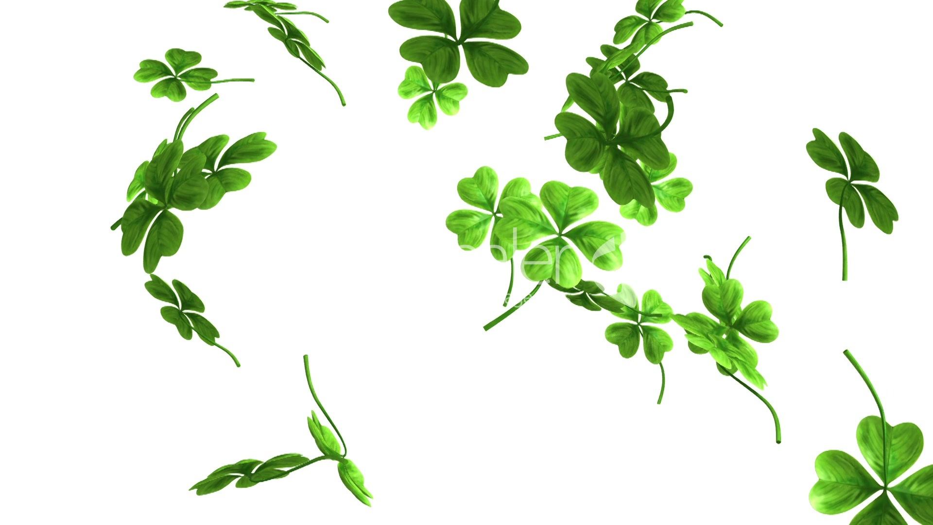 Shamrock Background Wallpapers 1920x1080