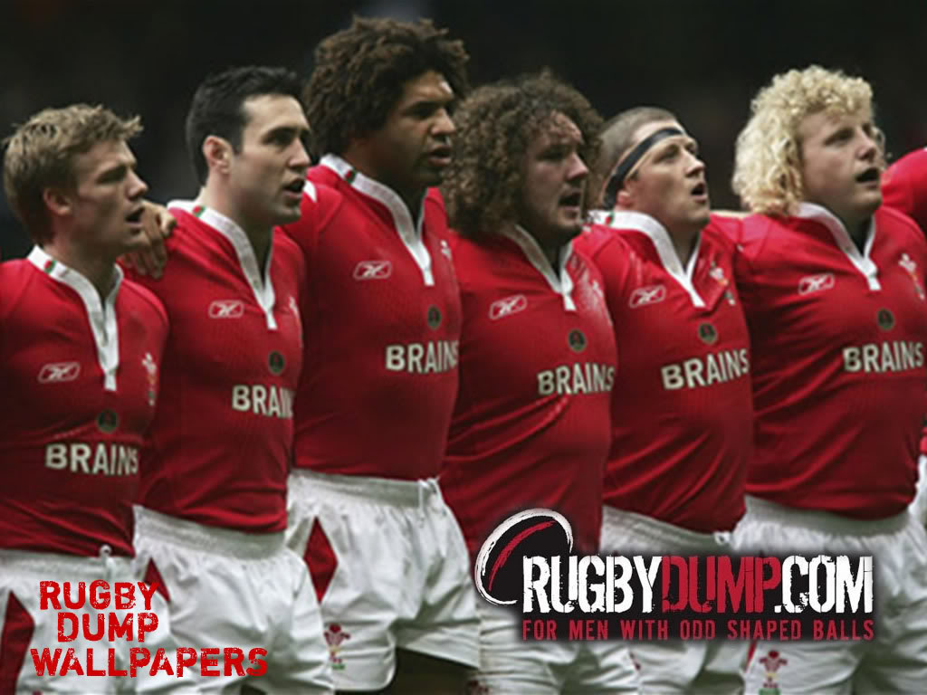 Welsh Rugby Team Anthem Wallpaper 1024x768