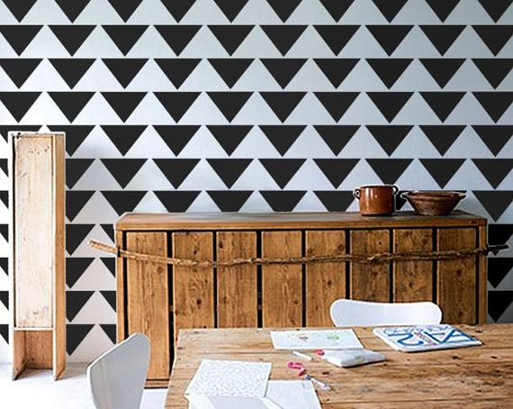 Geometric Pattern Self Adhesive Vinyl Wallpaper D137 by Livettes 34 570x454