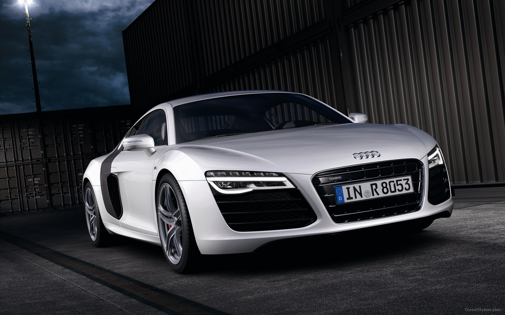 2013 Audi R8 V10 plus 01 Wallpaper 1920x1200