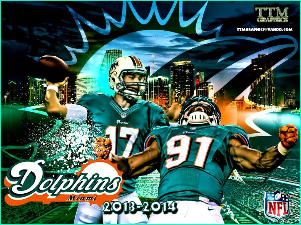 Miami Dolphins 1024x768