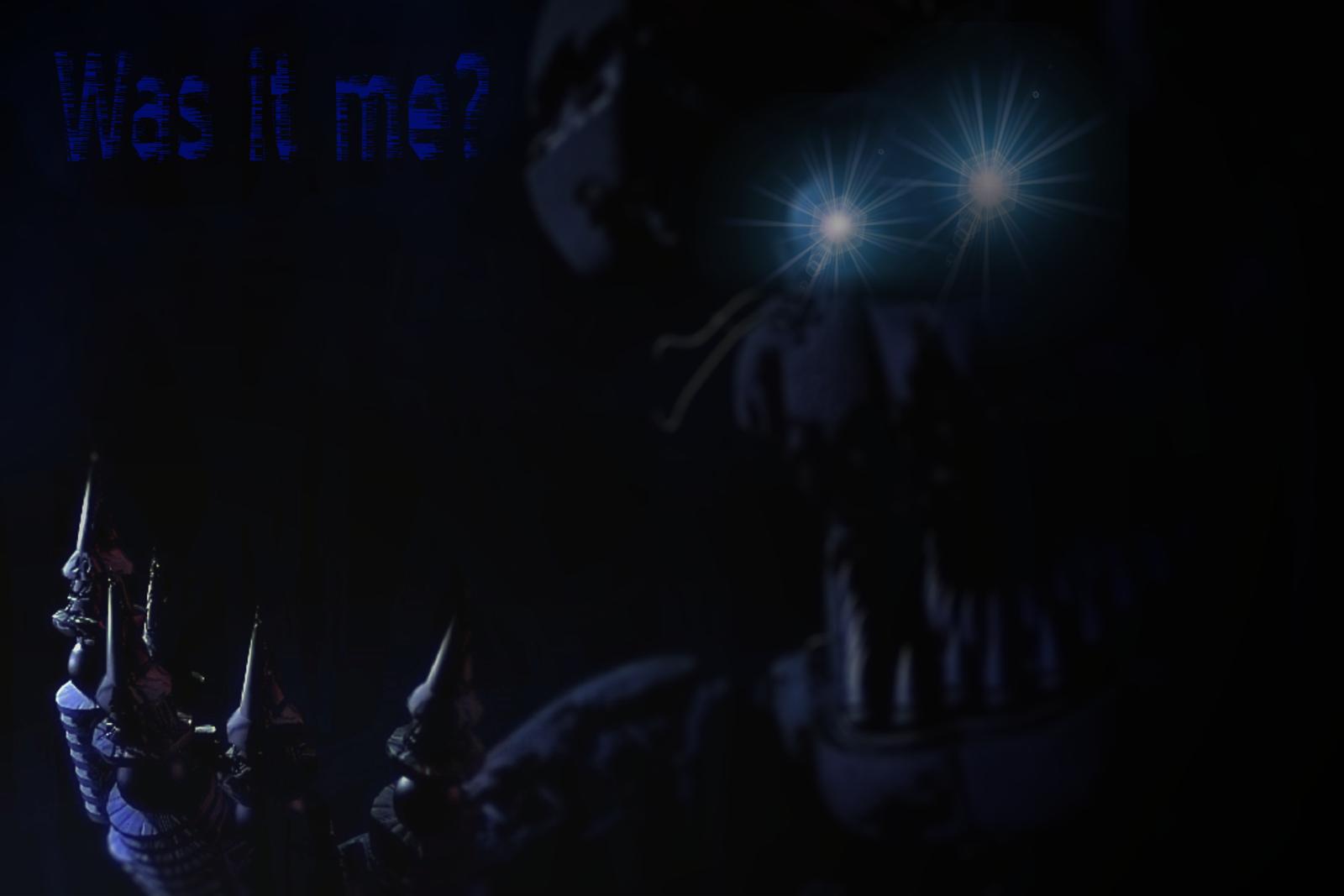 FNAF4   Nightmare Bonnie WALLPAPER 2 by DarkVidenge 1600x1067