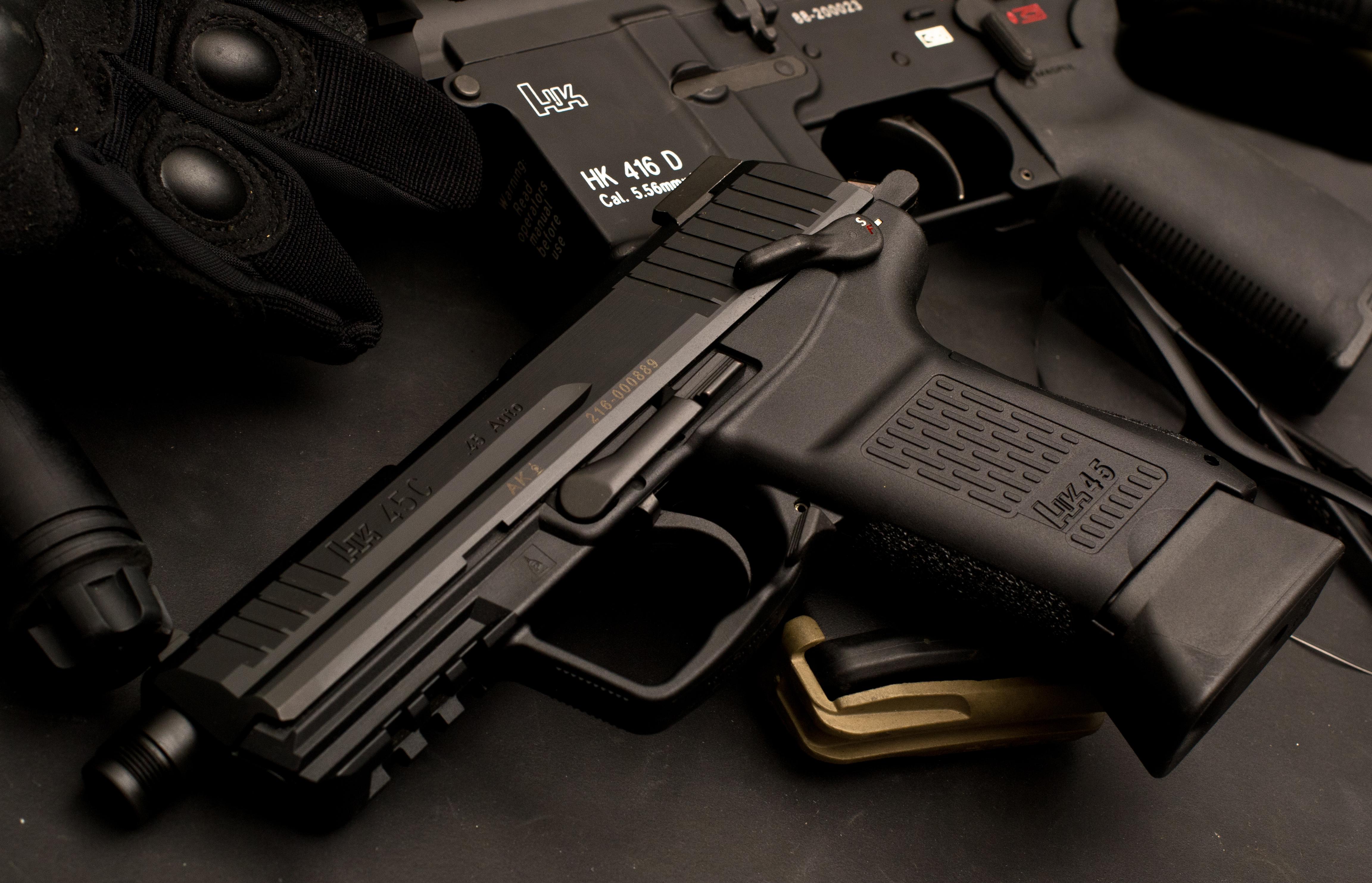 Weapons - Heckler & Koch Pistol Wallpaper