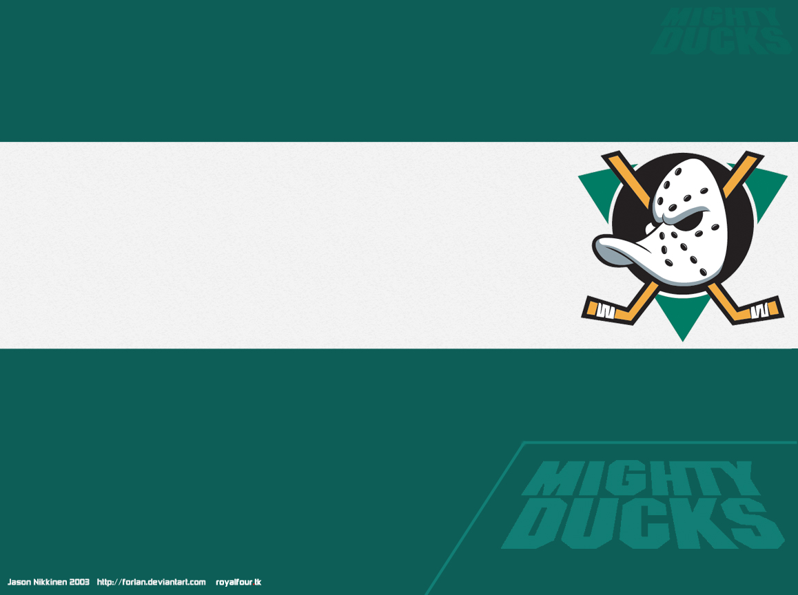 Mighty Ducks of Anaheim by forlan 1158x864