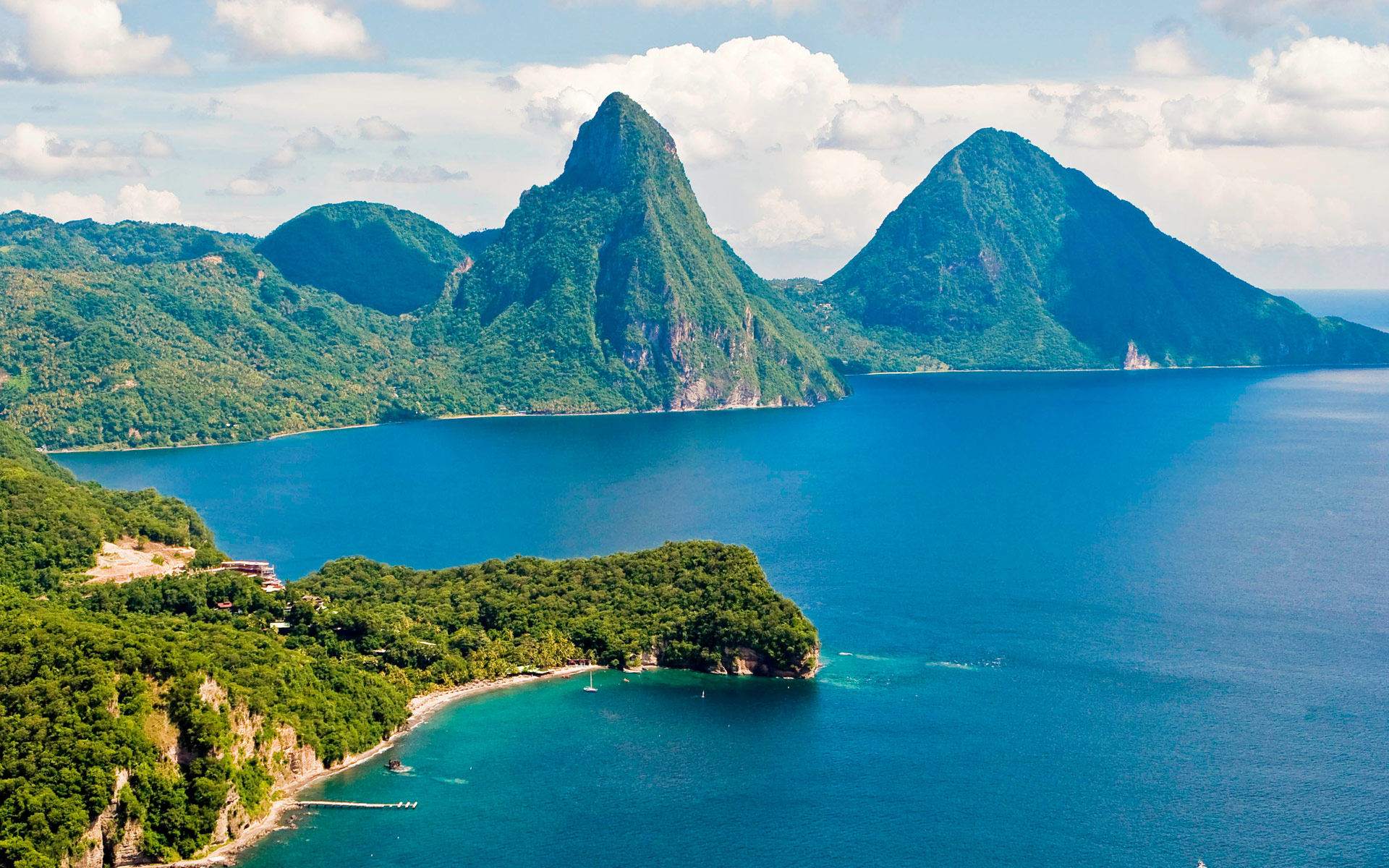 sea pictures of saint lucia in the caribbean saint vincent adas 1920x1200