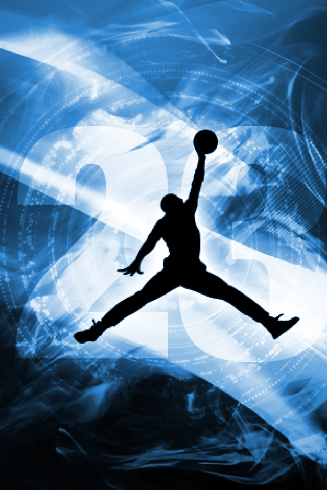 Nba logo michael jordan iPhone wallpapers Background and Themes 640x960