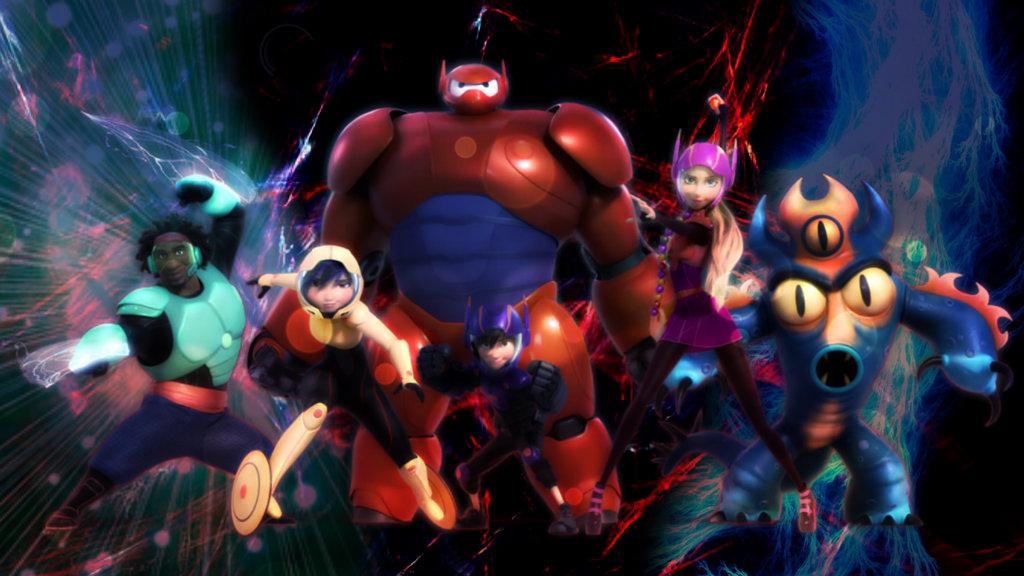 Big Hero 6 Desktop Wallpaper - WallpaperSafari