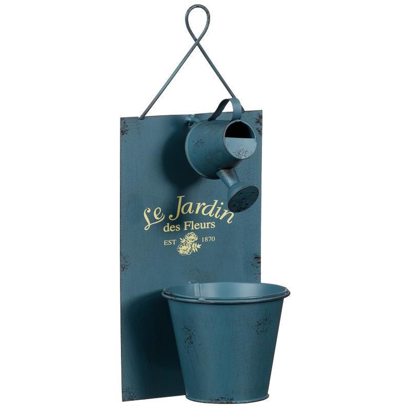 296942 Le Jardin Wall Planter blue watering 21 800x800