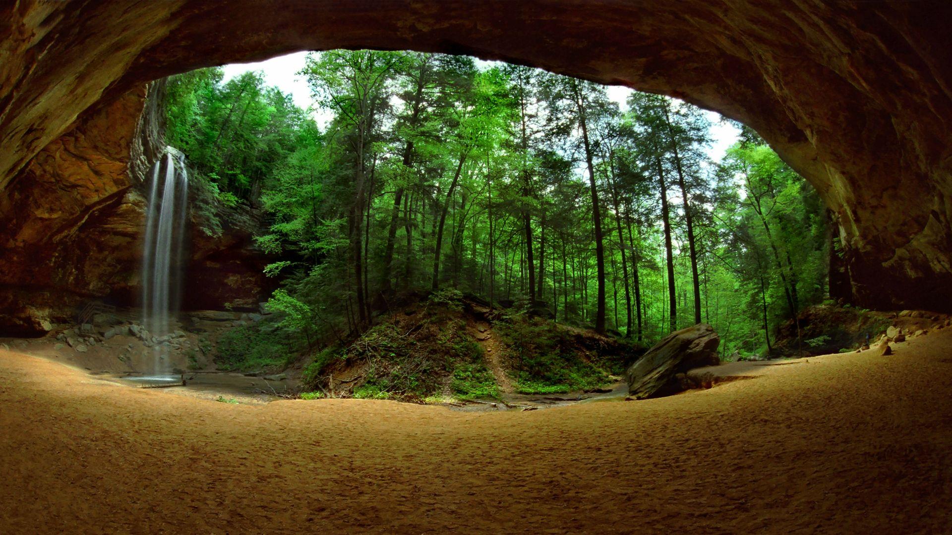 48 Cave Desktop Wallpaper On Wallpapersafari